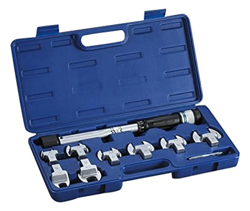 YELLOW JACKET 60652 Eight Head Torque Wrench Kit