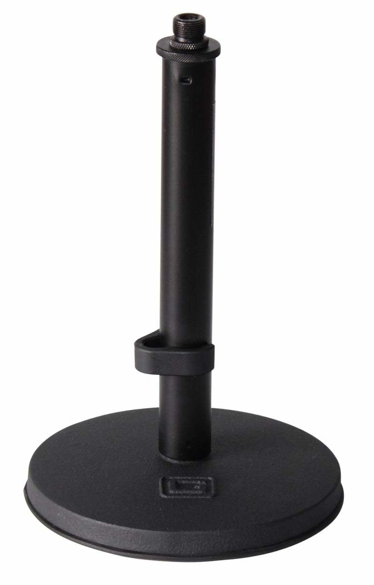 Gator Frameworks GFW-MIC-0600 Weighted Round Based Short Desktop Mic Stand