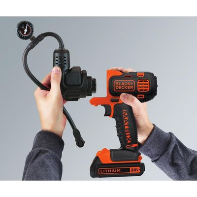 BLACK+DECKER BDCMTHPI Inflator Multi-Tool Attachment