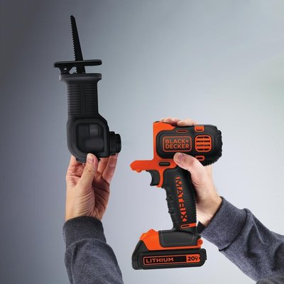 BLACK+DECKER BDCMTRS Matrix Reciprocating Saw Attachment