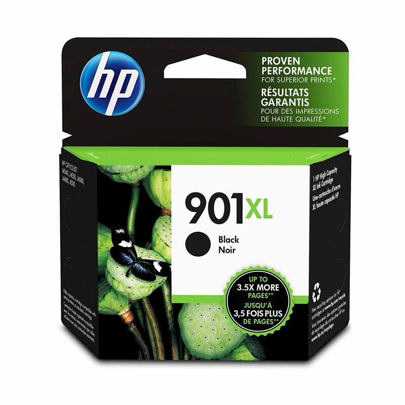 HP 901XL Black Ink Cartridge (CC654AN)