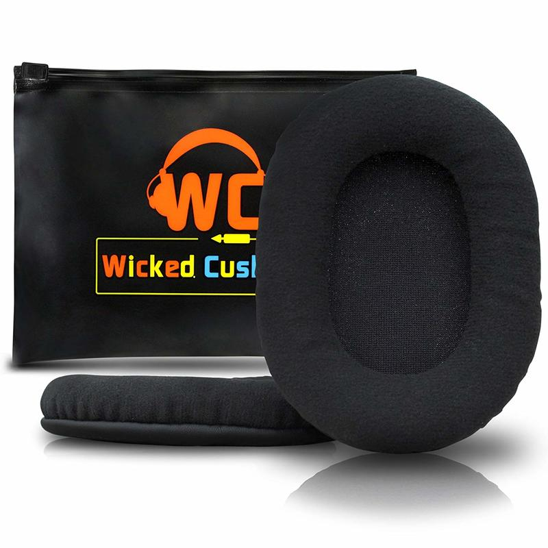 Upgraded Replacement Ear Pads for Sony Mdr 7506 - Also Compatible with Mdr - V6 & CD900ST by Wicked Cushions (Velour)