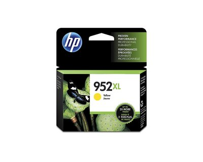 HP 952XL Yellow High Yield Original Ink Cartridge (L0S67AN) for 8710