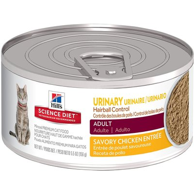 Hill's Science Diet Urinary & Hairball Control Cat Food