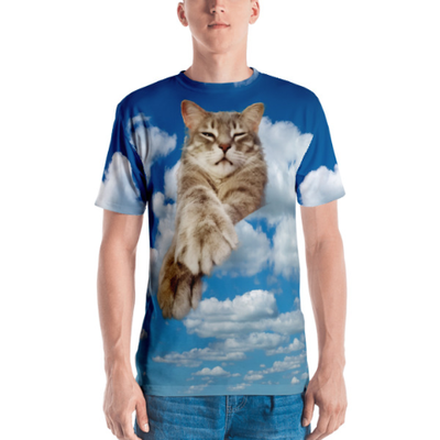 The Best T Shirt Ever Created the Cloud Cat T Shirt!